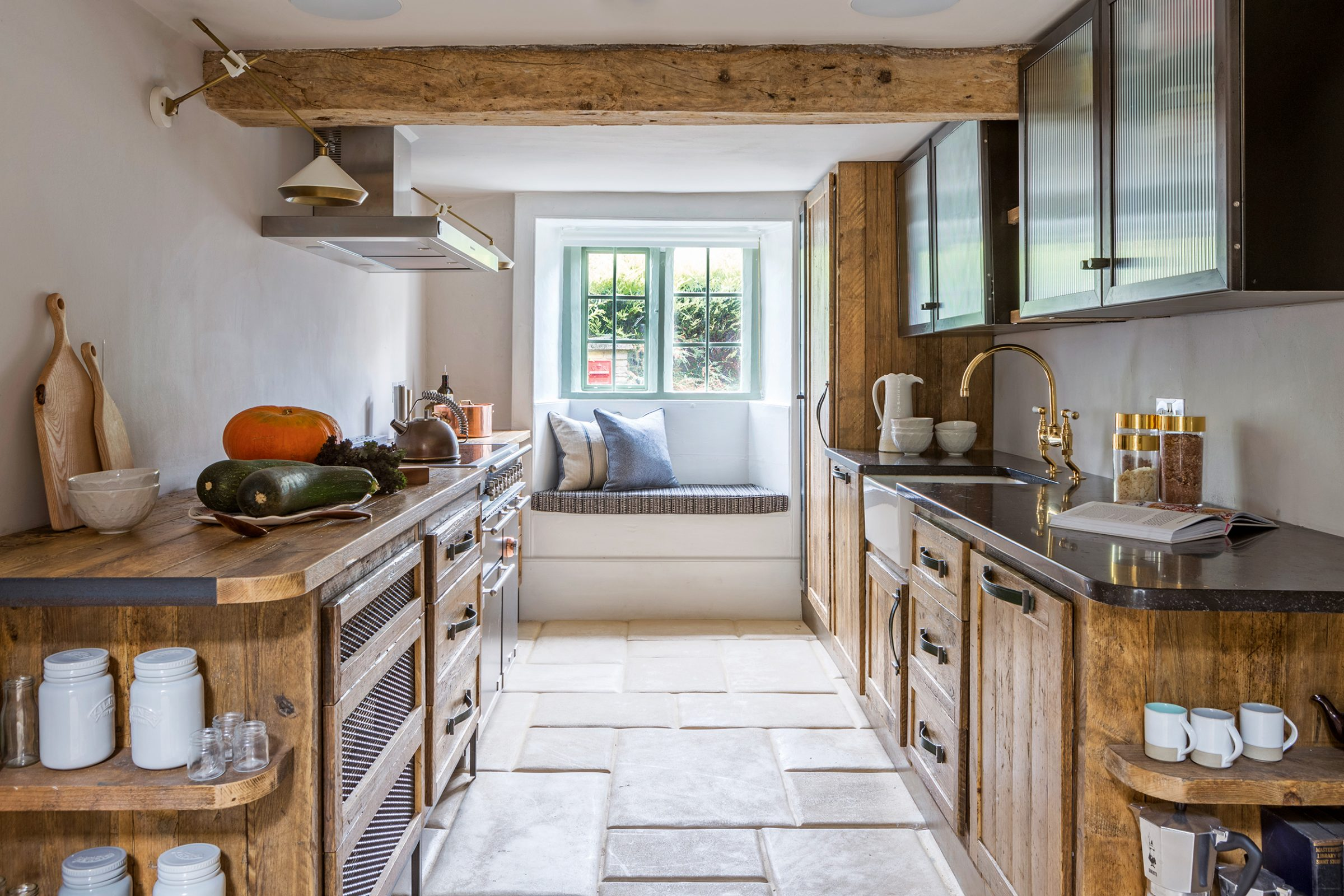 A New Kitchen Given Huge Character Thanks To The Beauty Of Reclaimed Wood Country Life