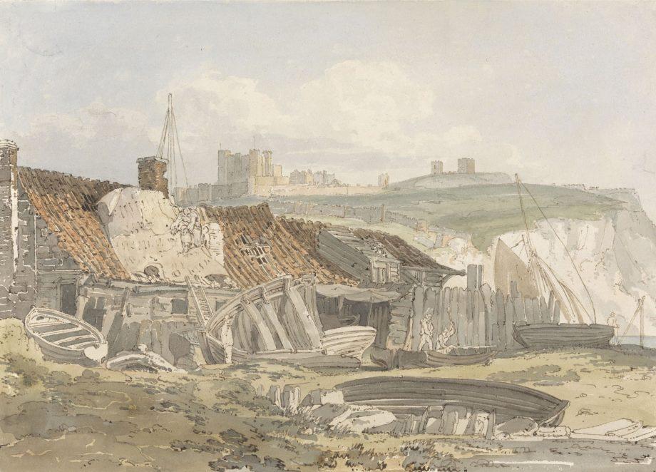Dover Castle in the www.watercolourworld.org archive