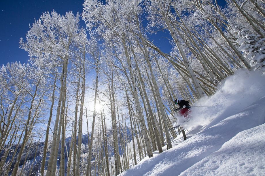Skiing in The Rockies - Aspen and Winter Park, Colorado