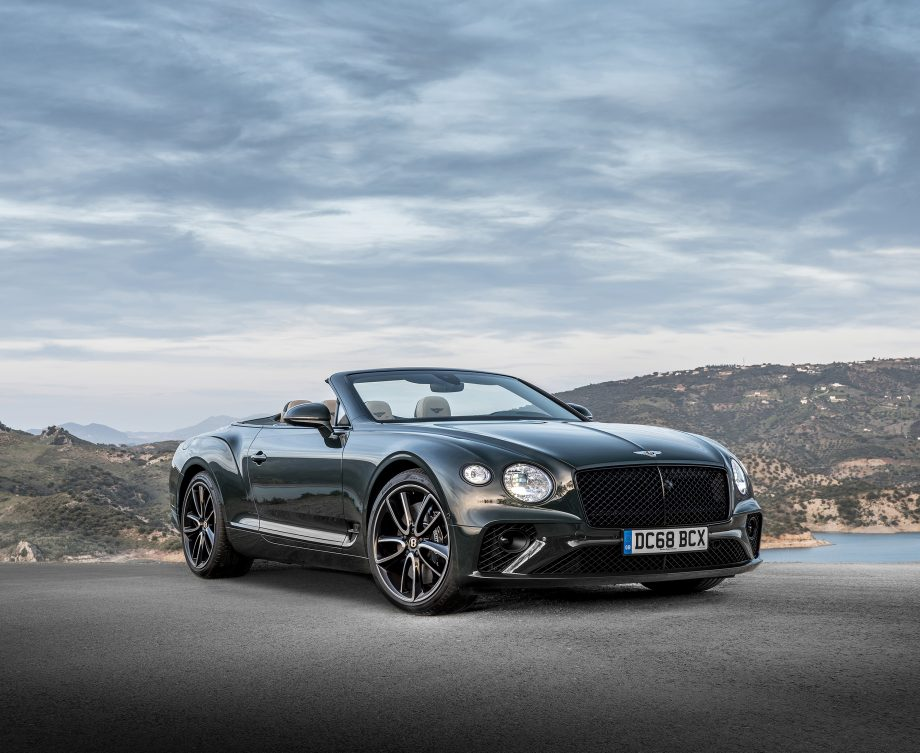 The Bentley Continental GT Convertible