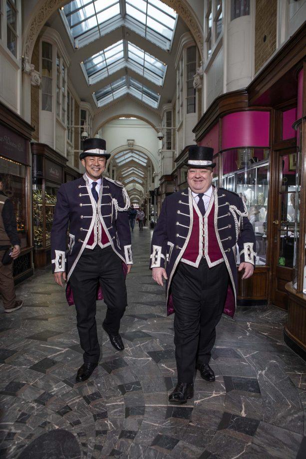 Beadles at Burlington Arcade, Piccadilly. ©Richard Cannon / Country Life