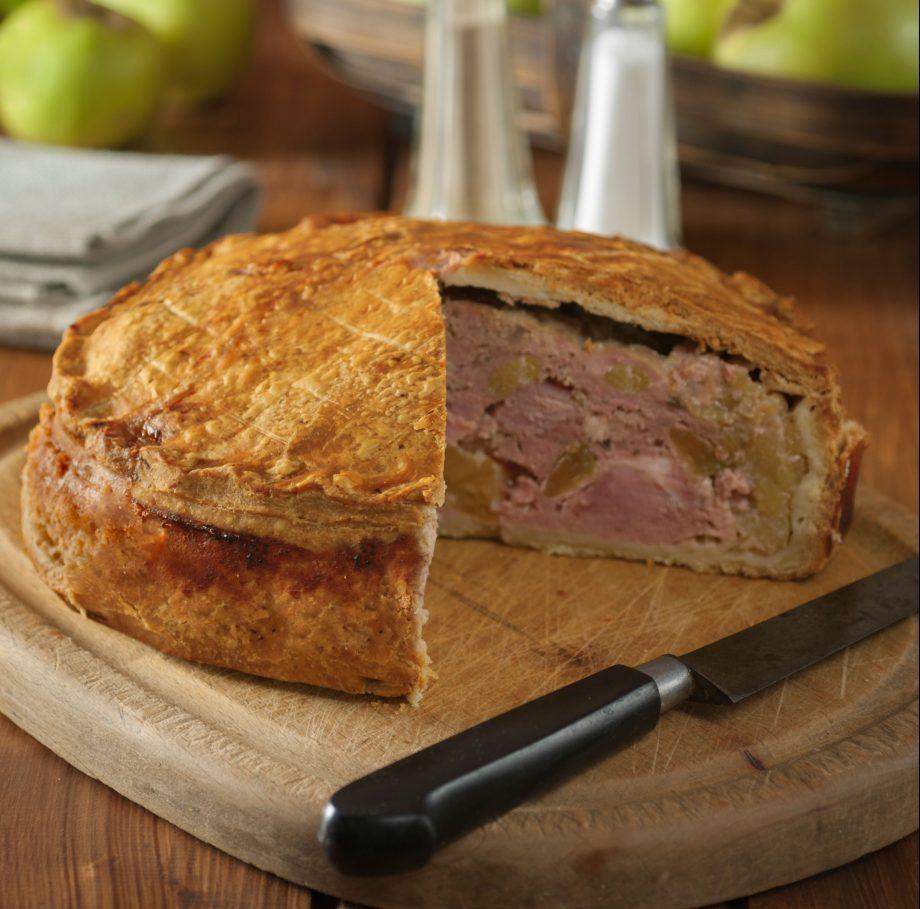 Fidget pie Gammon and apple pie UK Food
