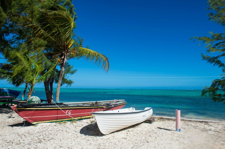 Little fishing boats, Providenciales, Turks and Caicos