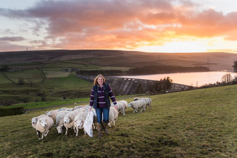 Rachel Hallos, beef and sheep farmer, West Yorkshire; Photograph: Jonathan Pow/Country Life Picture Library PUBLISHED: March 13 2019