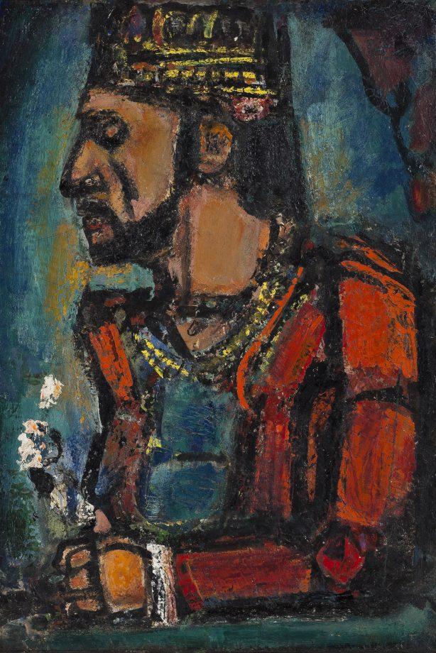 'The Old King, 1916–36', by Georges Rouault (1871–1958), 30¼in by 21¼in, Carnegie Museum of Art, Pittsburgh, USA.