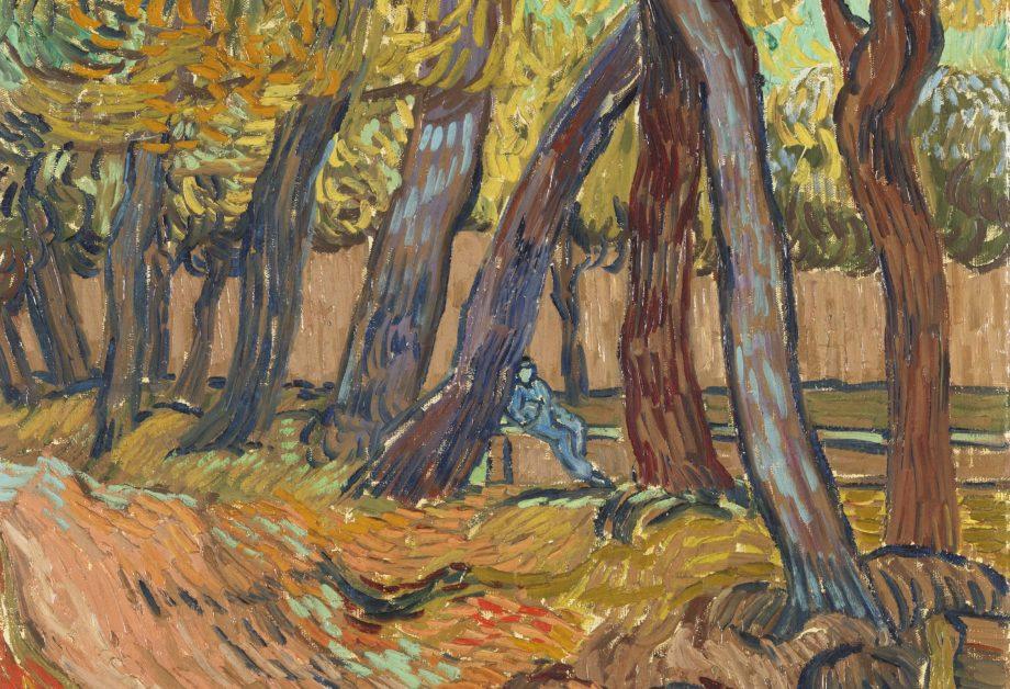 Vincent van Gogh (1853 – 1890) Avenue of Poplars in Autumn 1884 Oil on canvas on panel 990 x 657 mm Van Gogh Museum, Amsterdam (Vincent van Gogh Foundation).