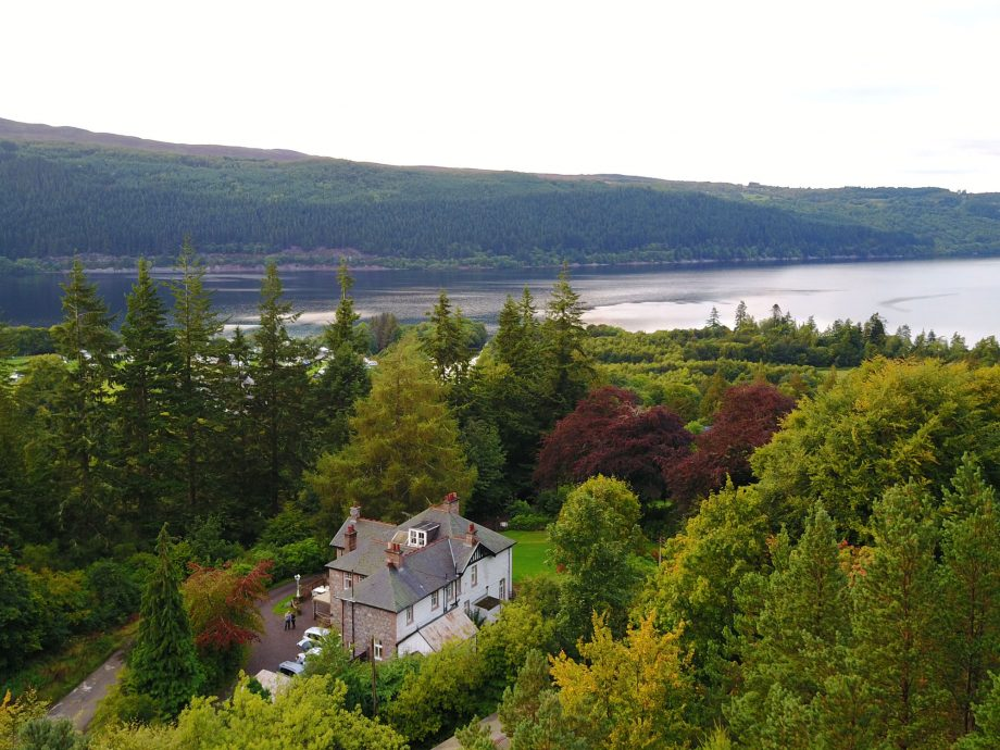 An eight-bedroom mansion on the shores of Loch Ness for the price of a one-bedroom flat in South London