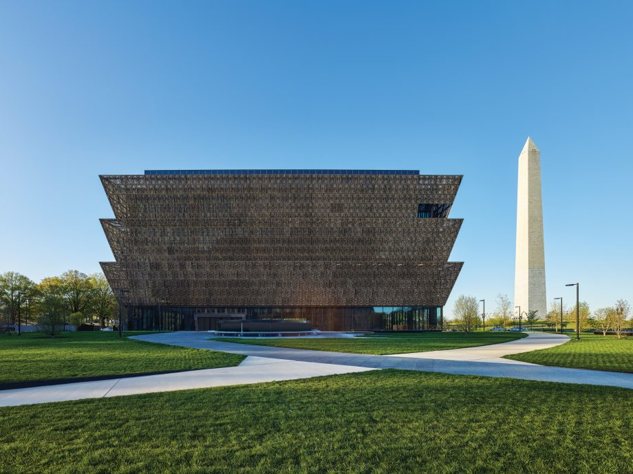 Smithsonian Institution, National Museum of African American History and Culture Architectural Photrography.