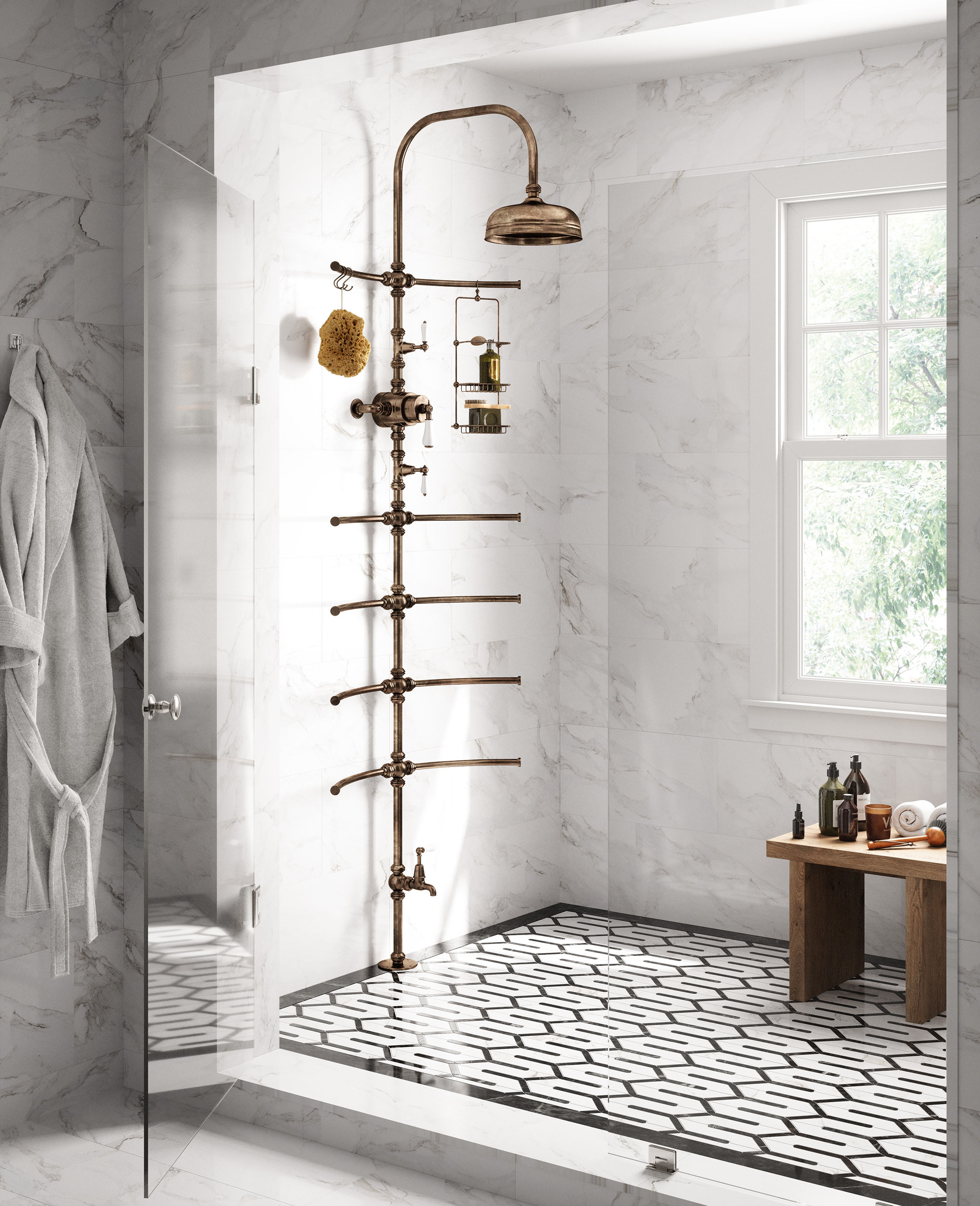 Catchpole Rye: The Joys Of A Shower Which Offers A Touch Of Luxury And