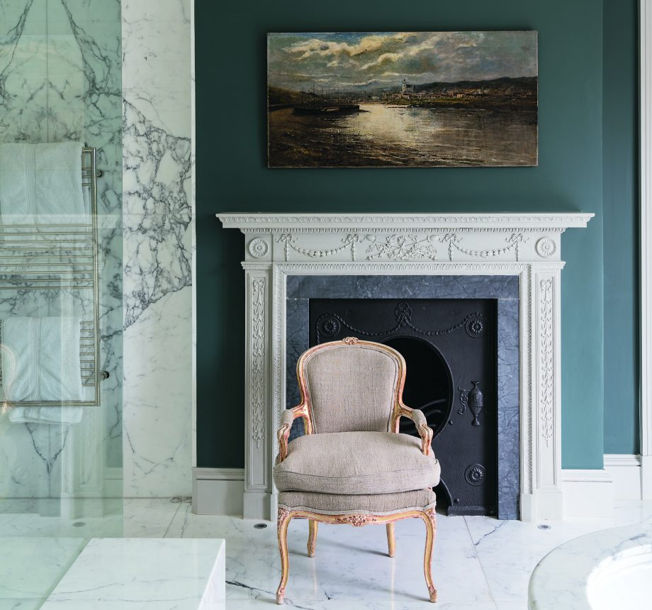Seven top tips from Joa Studholme on how best to use paint in country houses