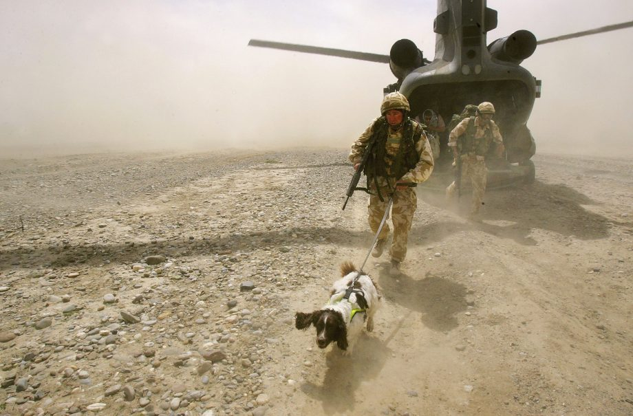 British Troops Secure Helmand Province In Southern Afghanistan