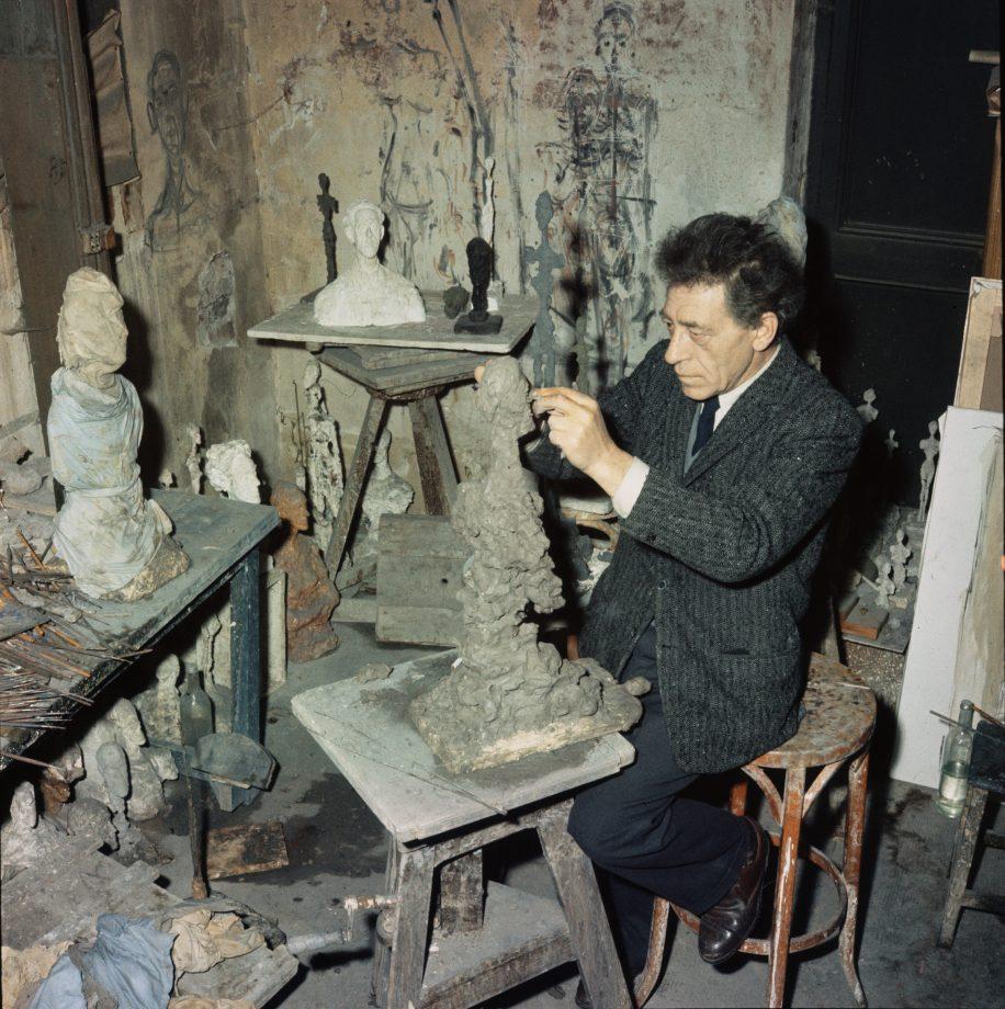 Giacometti's Sculpting Studio