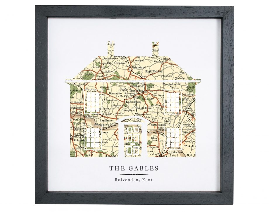 House Print with Personalised vintage Ma_273648101_399093721
