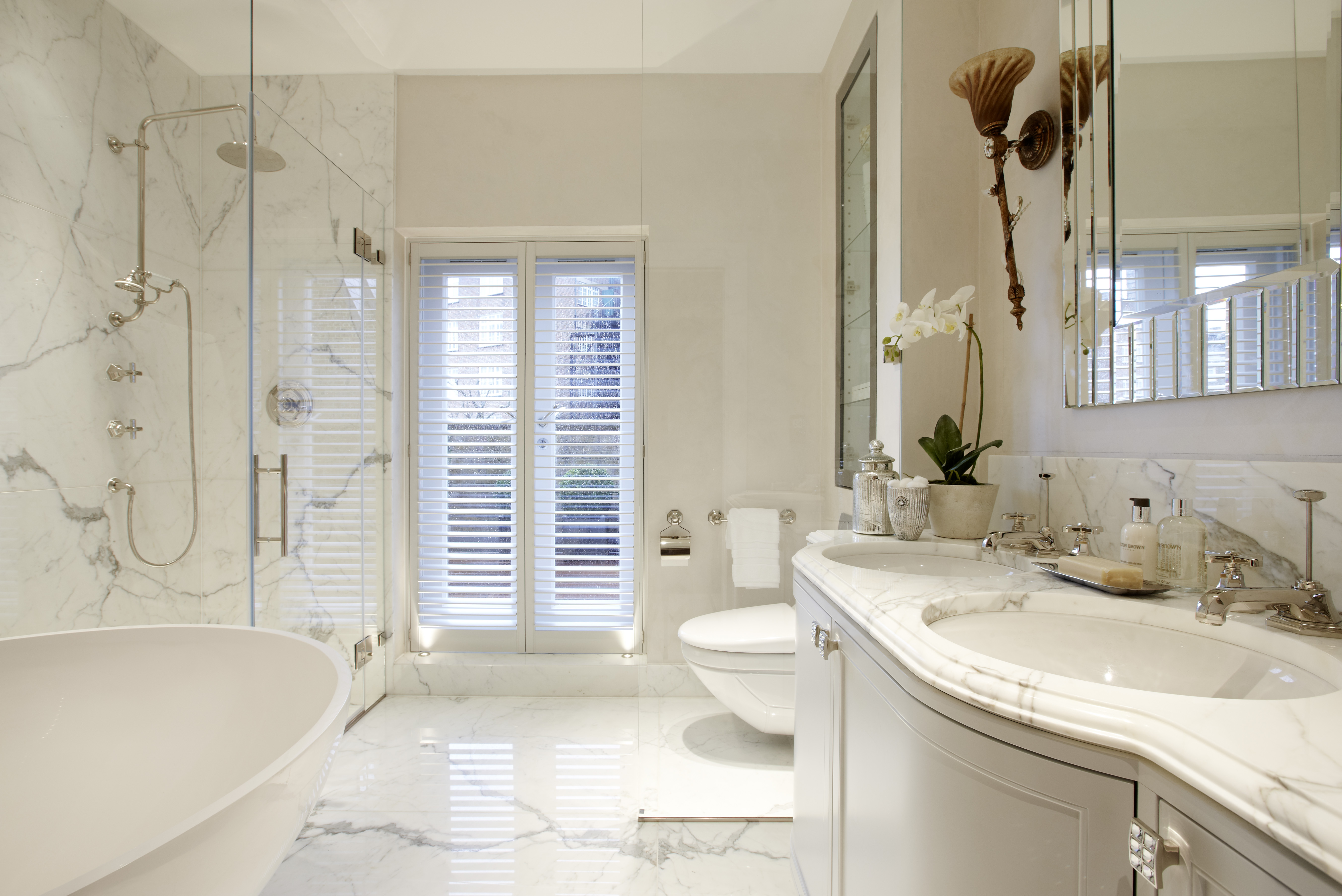 beautiful bathroom designs | Beautiful bathrooms: How to design your lighting, draw the ...