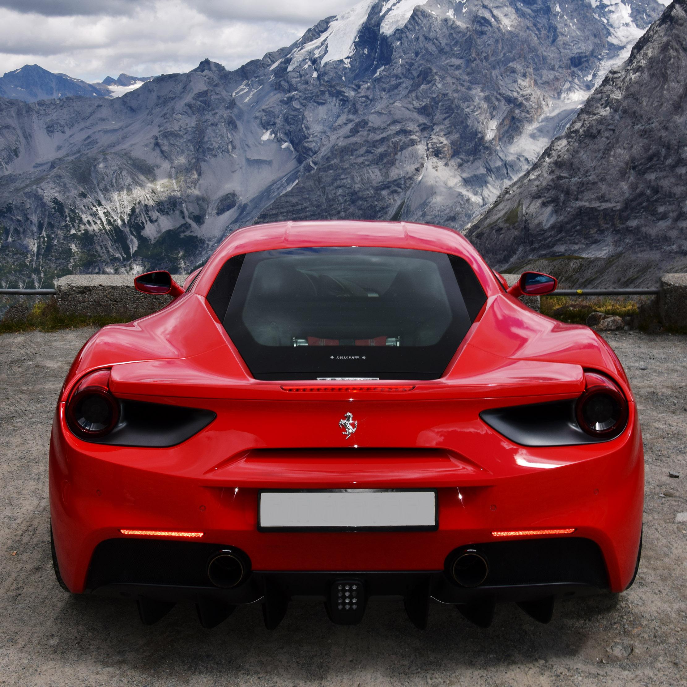 Ferrari Supercar: A Supercar Experience That Lets You Tour The Alps In A