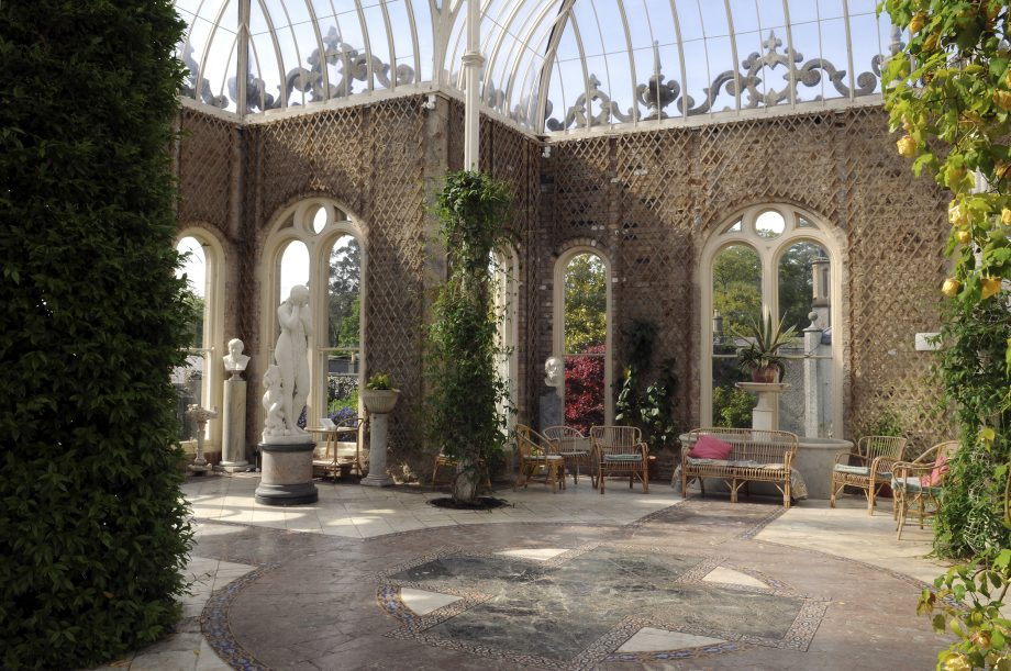 The Orangery at Killruddery, designed by William Burns circa the 1850s.