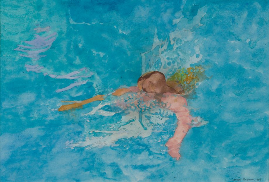 Swimming Pool, Key West by Leonard Rosoman