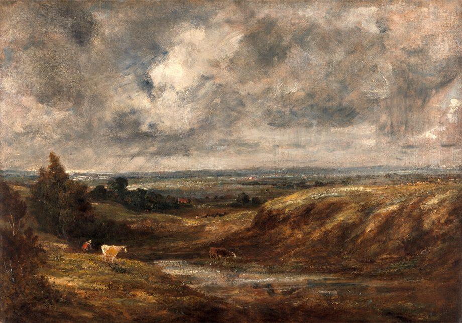 Hampstead Heath, John Constable, 1776-1837, British
