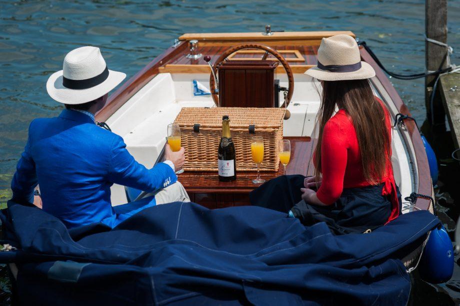 Posh picnic at Henley Royal Regatta