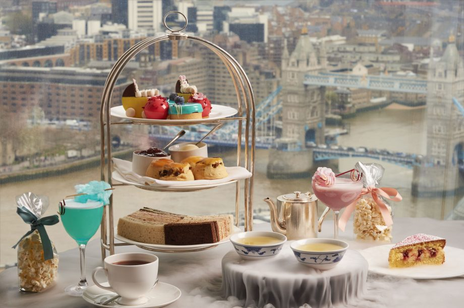 Shangri-La Hotel, At The Shard, London, Royal High Tea With Tower Bridge View