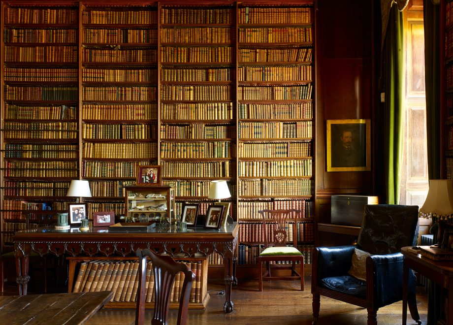The Library at Stanford Hall