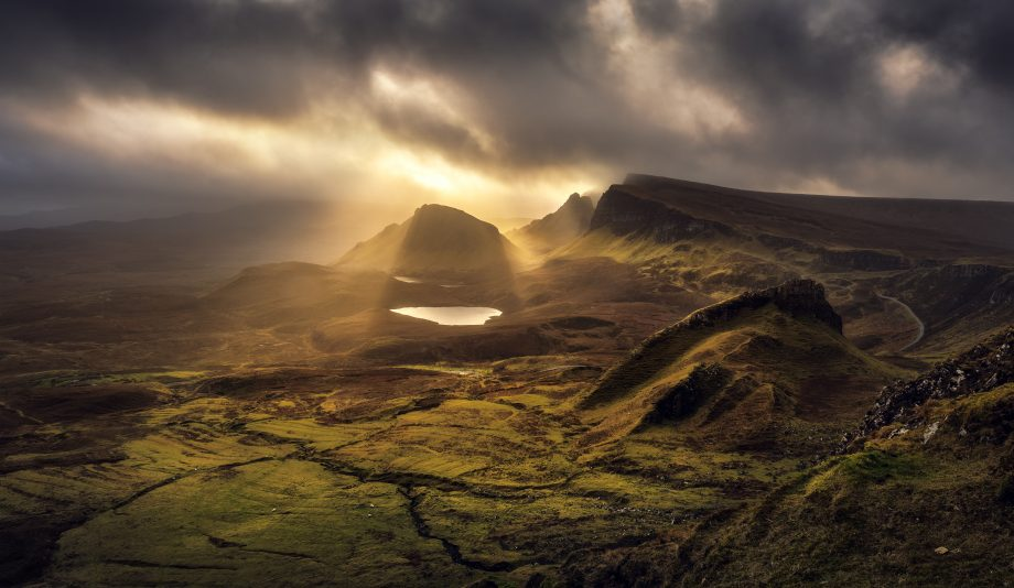 The Quiraing - Trotternish Ridge Light - Scotland