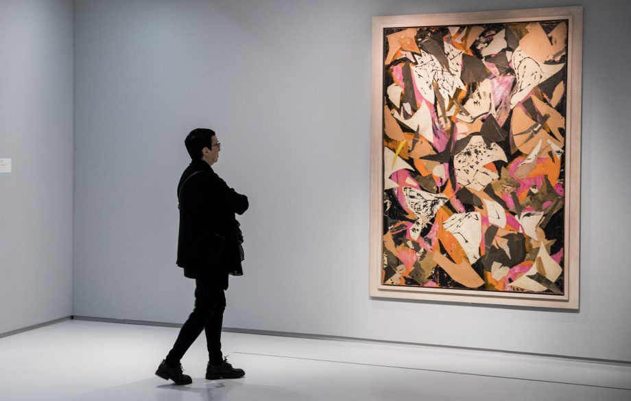 'Lee Krasner: Living Colour' at the Barbican Art Gallery.