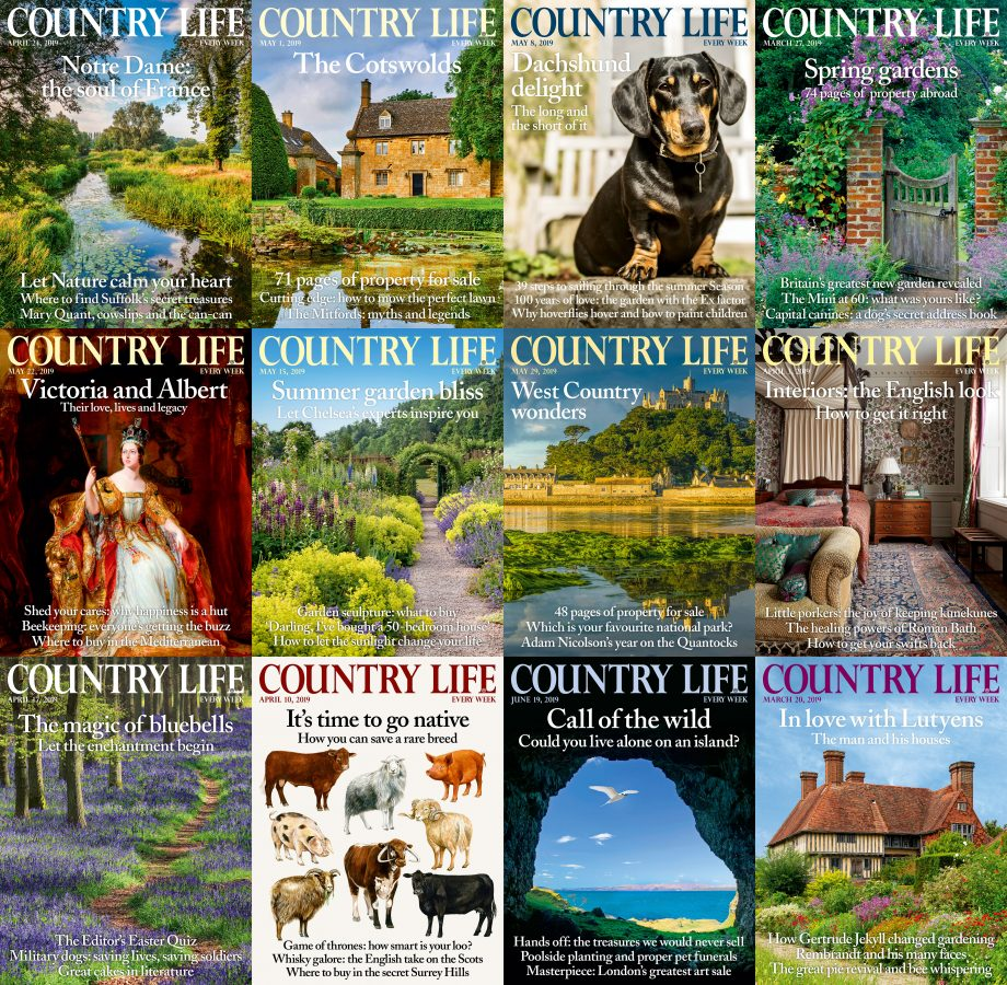 Country Life covers