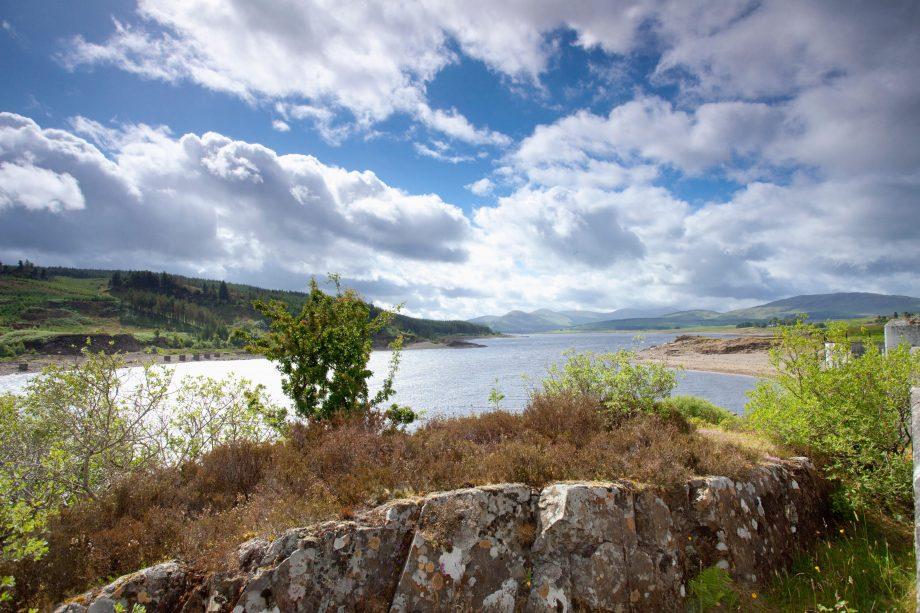 Loch Doon, East Ayrshire, Scotland.