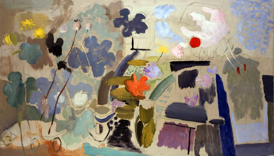 Garden Conservatory by Ivon HItchens. Courtesy of private collection/Estate of Ivon Hitchens