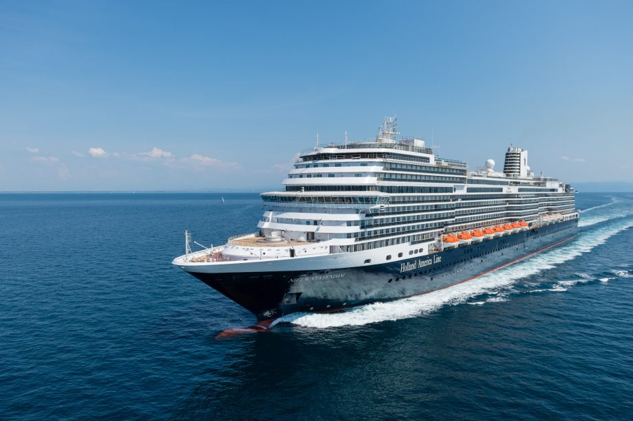 Nieuw Statendam, one of the newest ships of Holland America Line