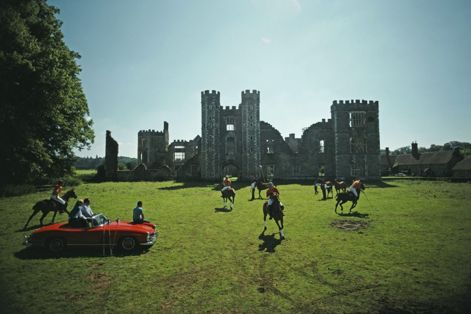 Polo against the backdrop of a ruined castle? It can only be Cowdray