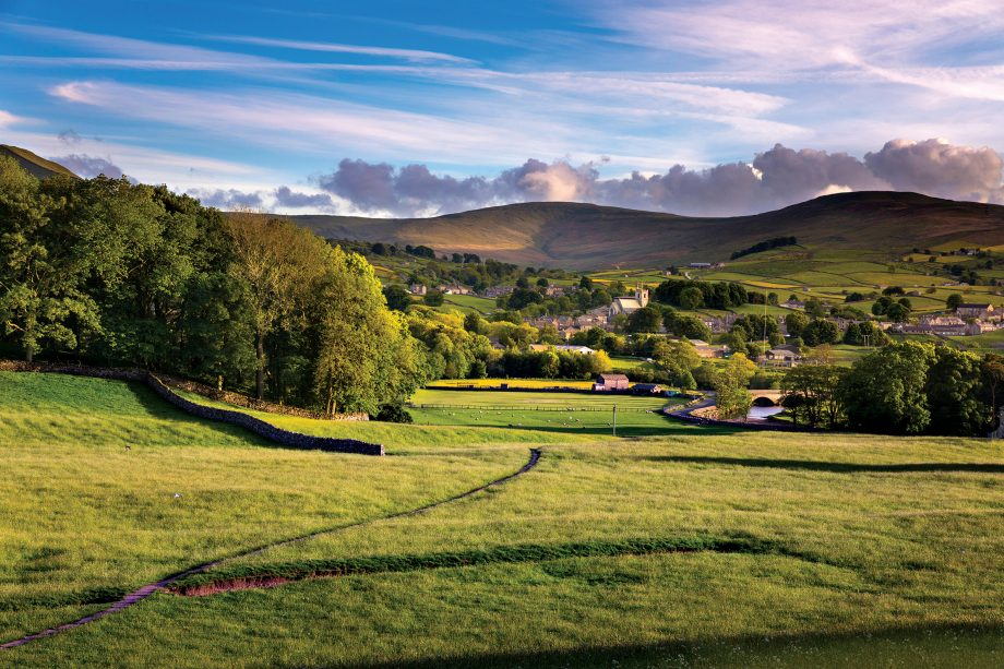 Hawes, in Wensleydale —  a great place to live the high life