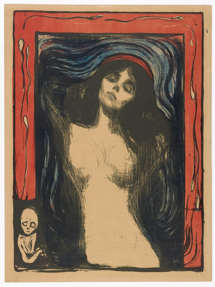 In Focus: Edvard Munch's Madonna — sanctity, fertility and mortality in a picture as startling as The Scream