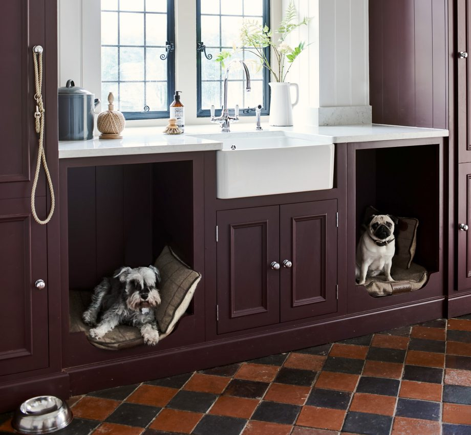 Neptune's kitchen design with dogs in mind.