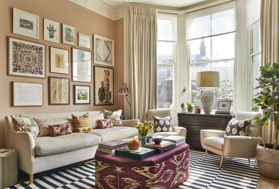 Why you should avoid matching and use colours and patterns to bring a living room to life
