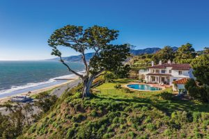 California Dreaming: the McCormick Estate comprises a 6,200sq ft Mediterranean-style house with six bedrooms, almost an acre of grounds and a pool, boasts one of the best views in LA.
