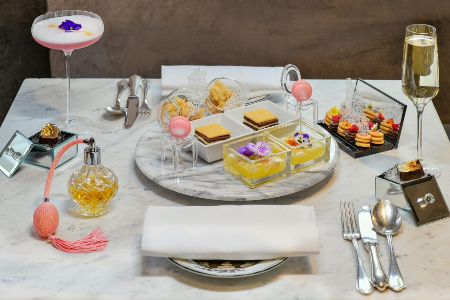 The Franklin Afternoon Tea - or, the 'Culinary Fashion Experience Inspired by Christian Dior Designer of Dreams', as they bill it.