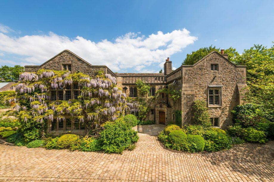 A historic Lancashire manor with connections to Henry VI, raised up from ruins into wisteria-covered majesty