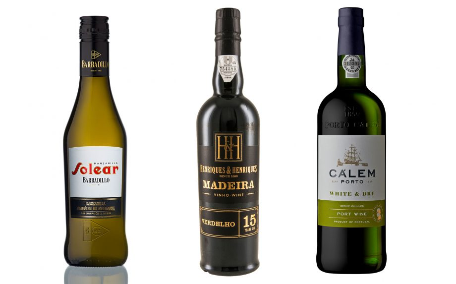 Barbadillo's Solear, Hidalgo's Manzanilla and Calem's White and Dry Port