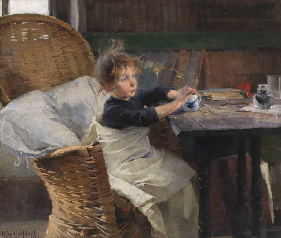 Helene Schjerfbeck, The Convalescent, 1888. Oil on canvas, 92 x 107 cm. Finnish National Gallery / Ateneum Art Museum; photo: Yehia Eweis.