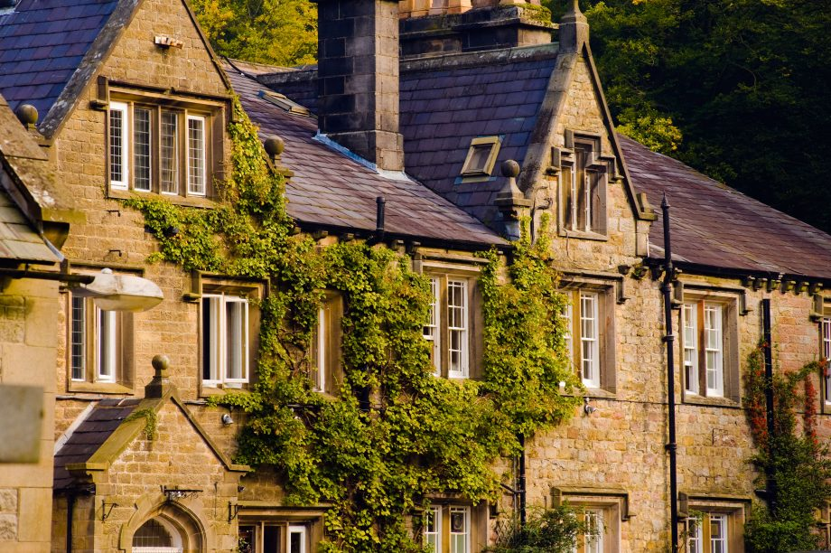 The Inn at Whitewell in the Hodder Valley in the Forest of Bowland Area of Outstanding Natural Beauty, Lancashire.