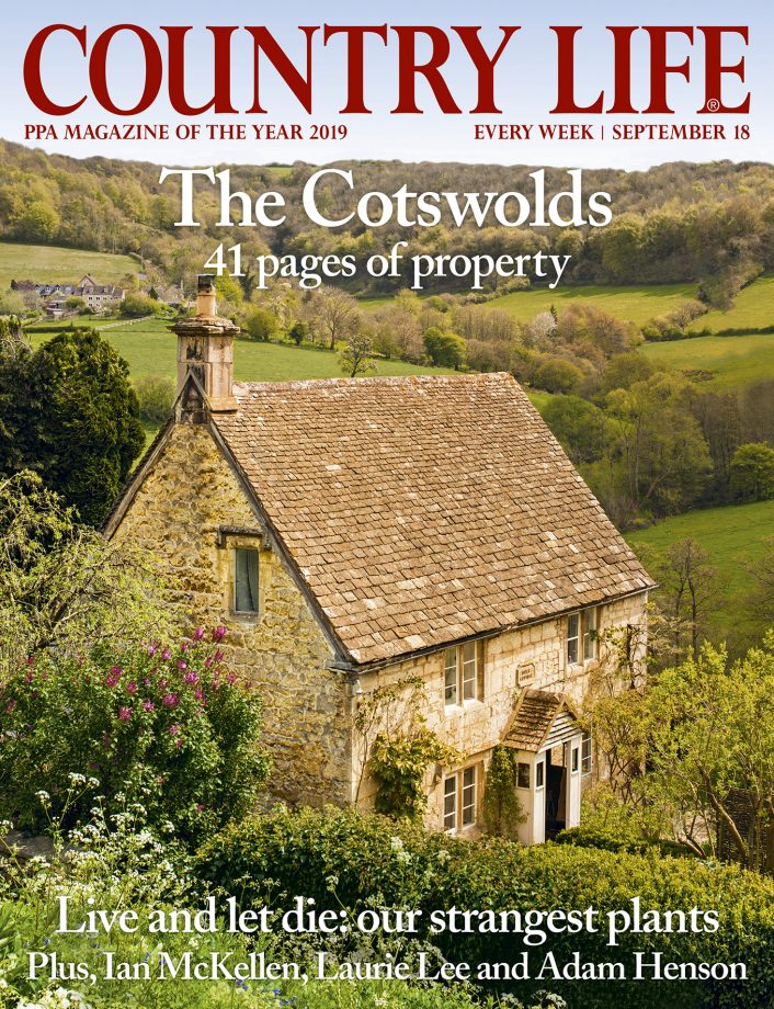 Cover of Country Life 18 September 2019