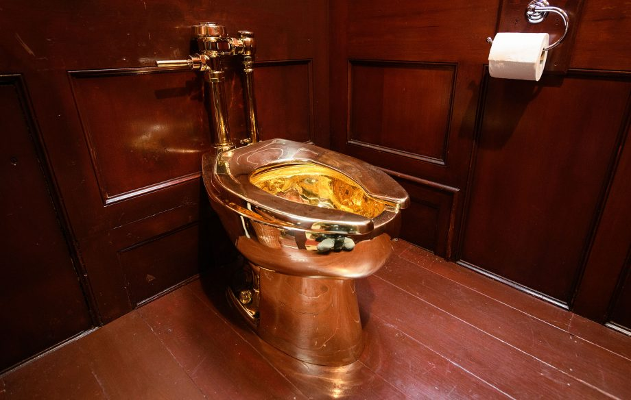 Country Life Today: Thieves who stole Blenheim Palace's golden loo might be 'the real artists', suggests Cattelan