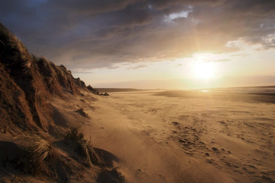 Norfolk is famous for its huge beaches, such as Holkham Beach, in Wells-Next-The-Sea, Norfolk. Now the county has three more miles of beach for visitors to enjoy.
