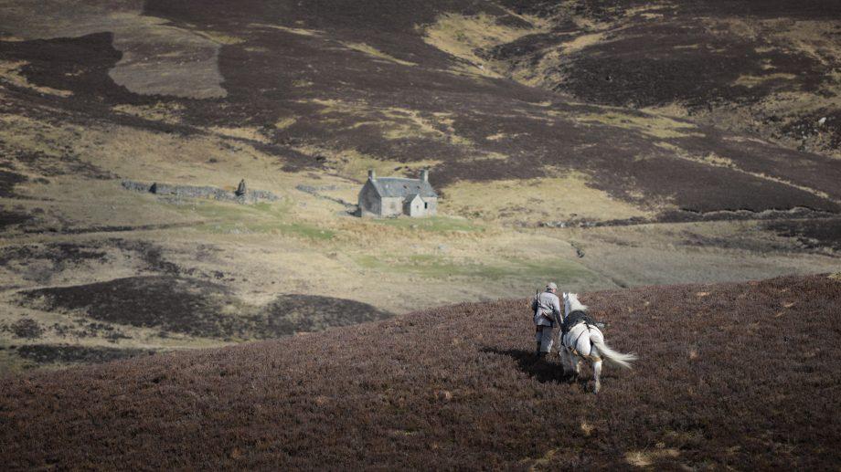 Deer stalking on the Blair Atholl estate in Scotland