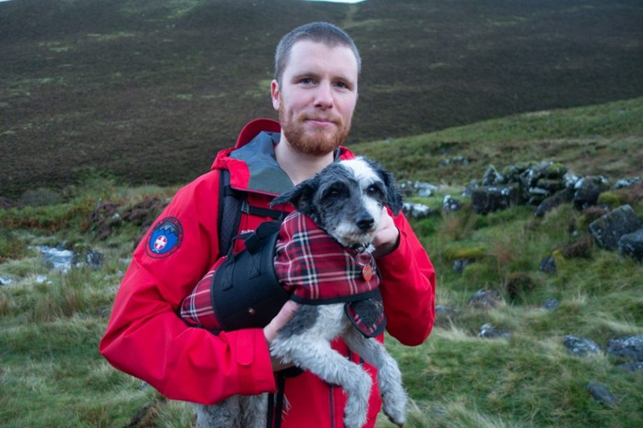 Dog who refuses to walk another step triggers six-man mountain rescue in Lake District