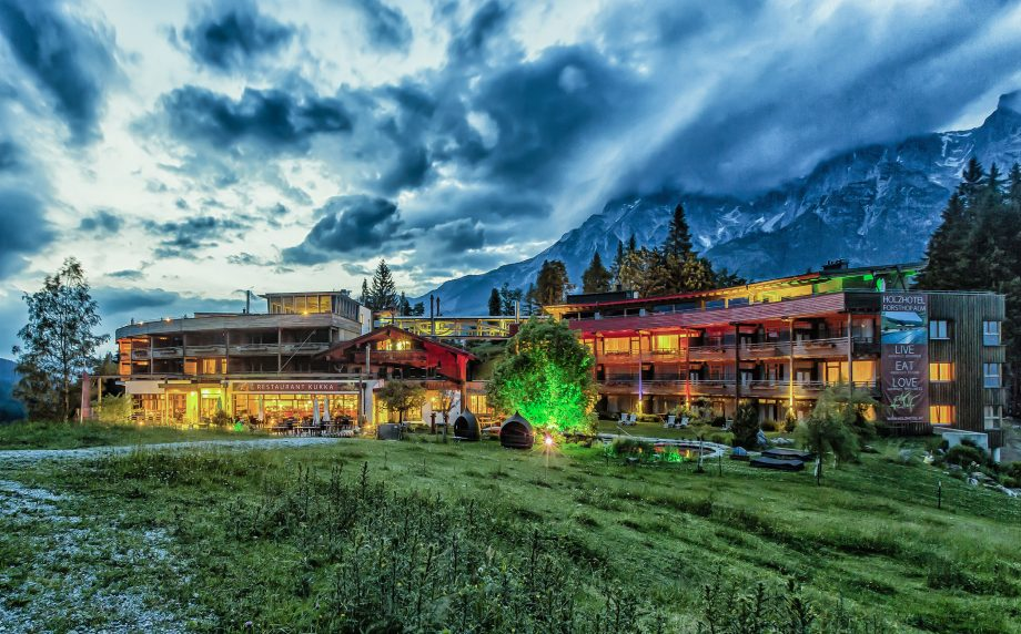 Forsthofalm - the timber hotel in Austria