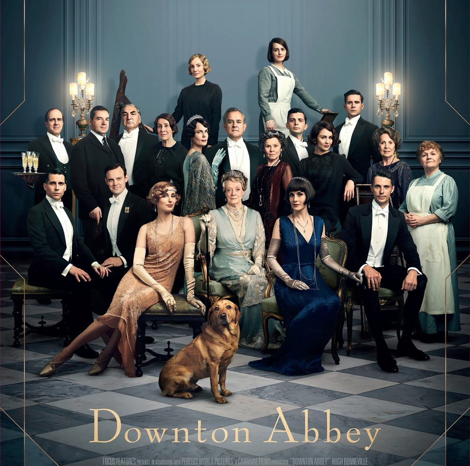 The poster for the Downton Abbey film