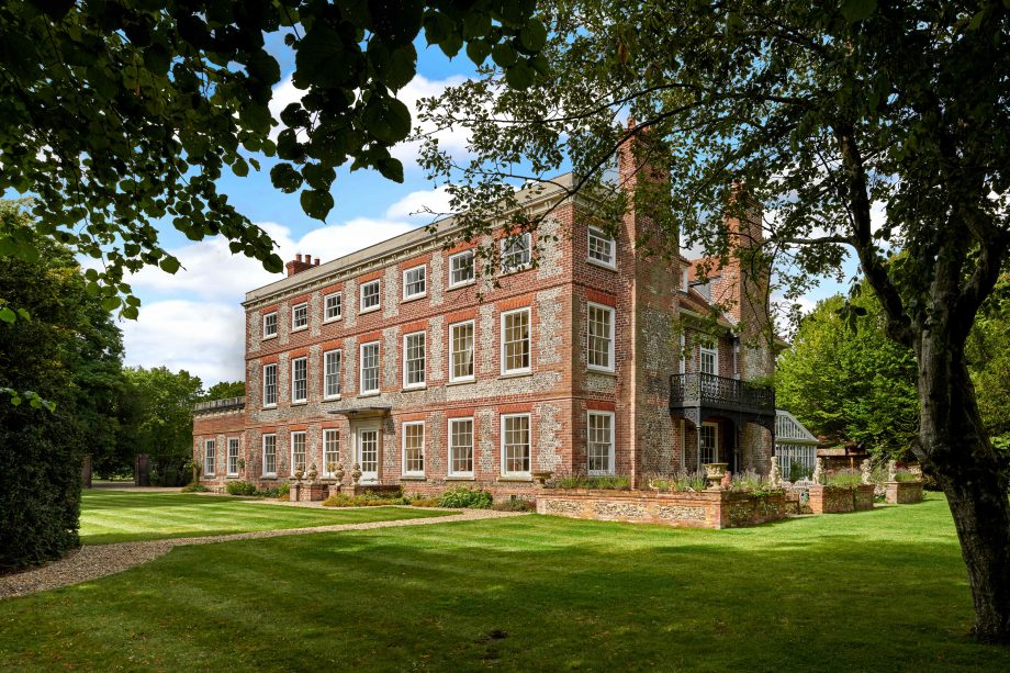 A magnificent Wiltshire country house with equestrian facilities so good they were let out to an Olympic champion